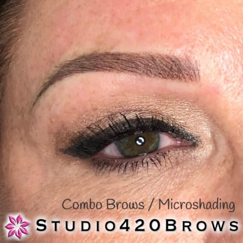 combo brows-microshading